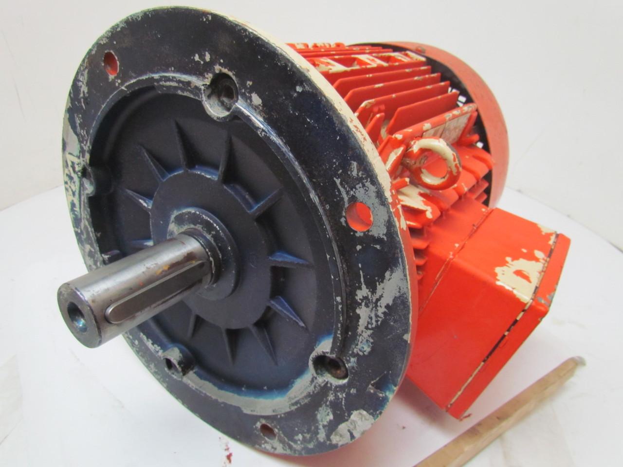 Siemens 4 6 Kw 1140 Rpm 480v Electric Motor 3 Ph Tefc 132m