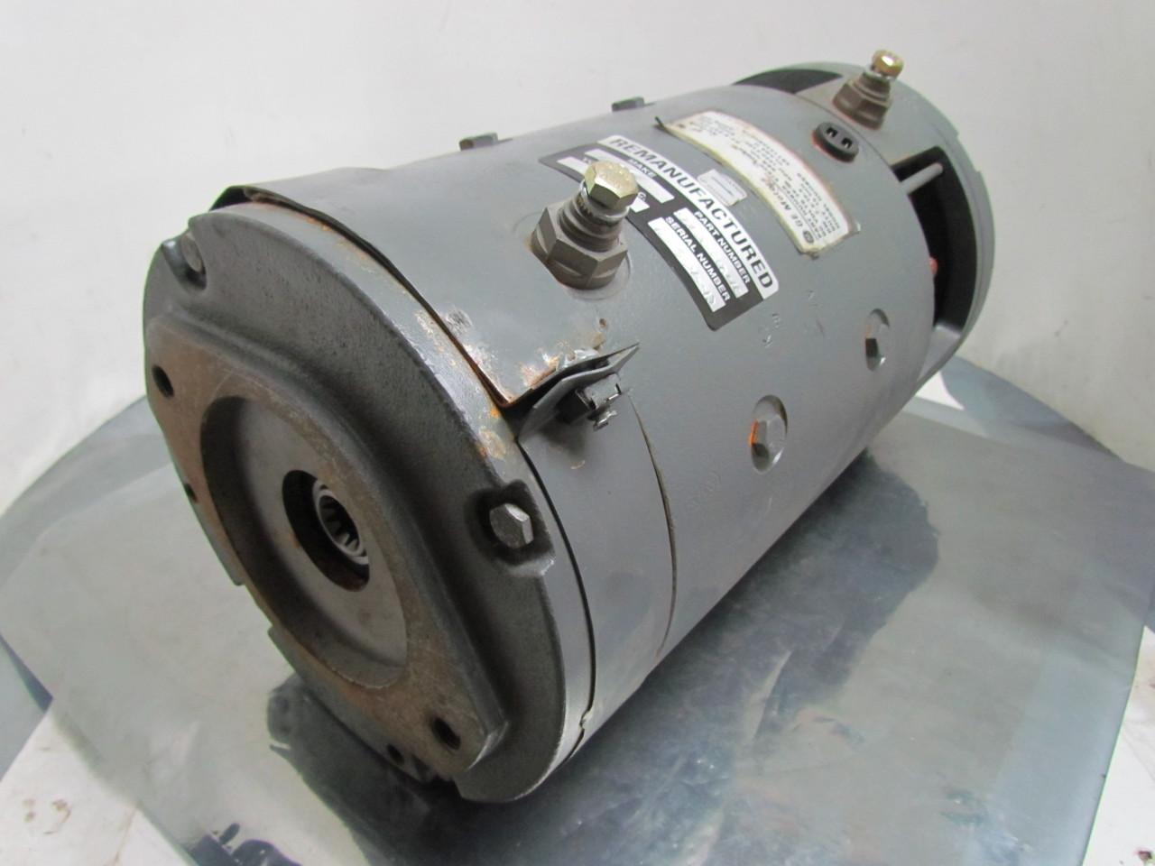 Ge General Electric 97e20 10040 5bt1335b007a Dc Motor 36