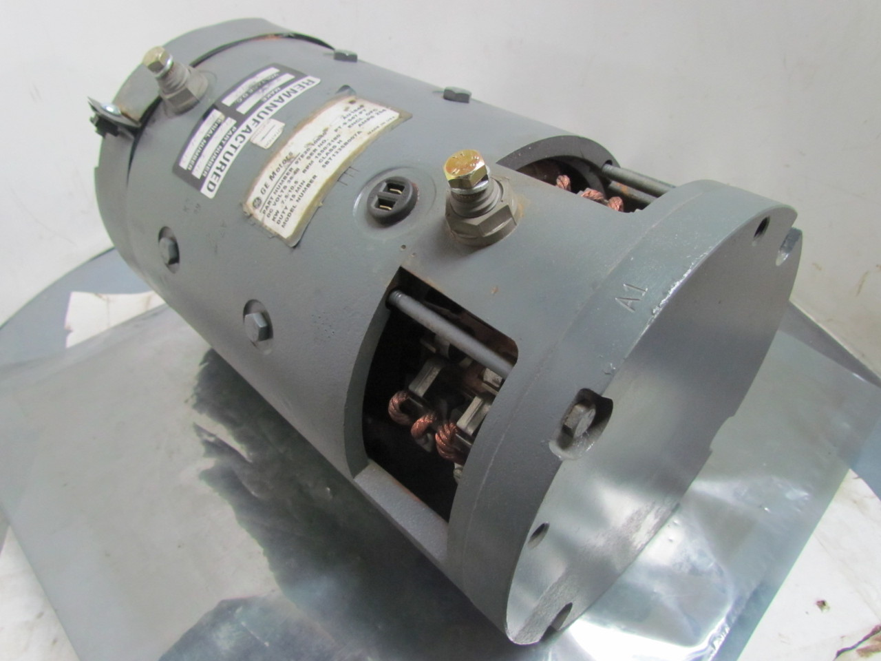 Ge general electric 97e20 10040 5bt1335b007a dc motor 36 for General electric dc motors