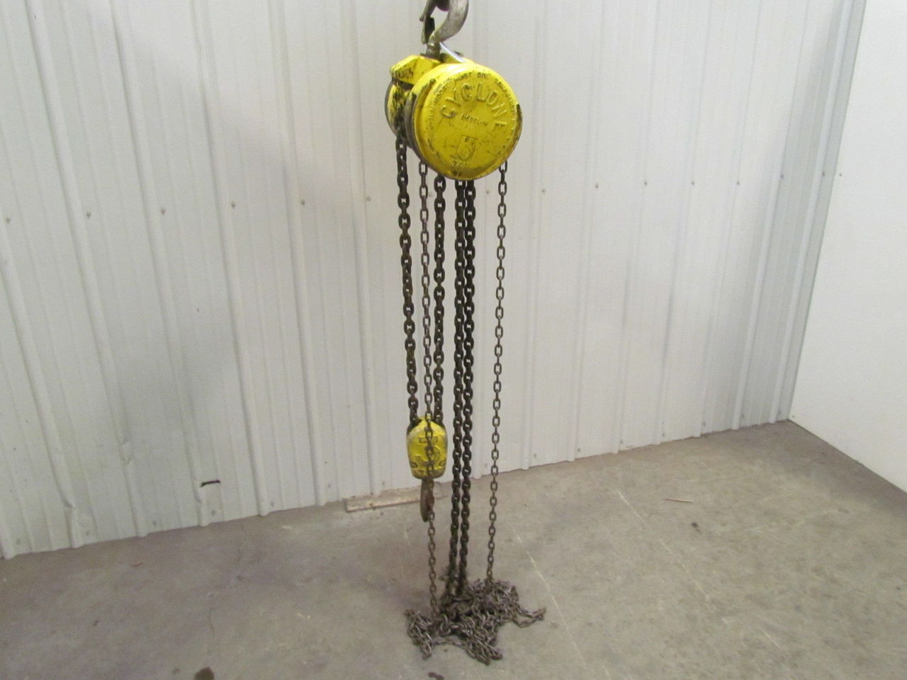 3 ton manual chain hoist