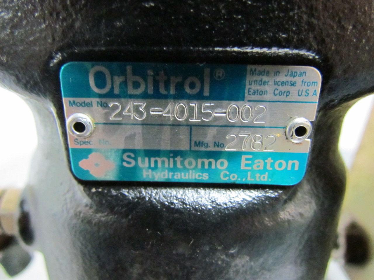 Orbitrol Sumitomo Eaton 243 4015 002 Steering Control