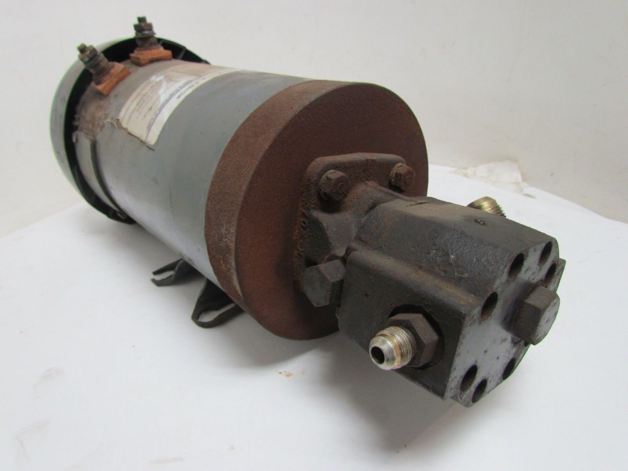 general electric pump d c motor hydraulic pump combo 1hp