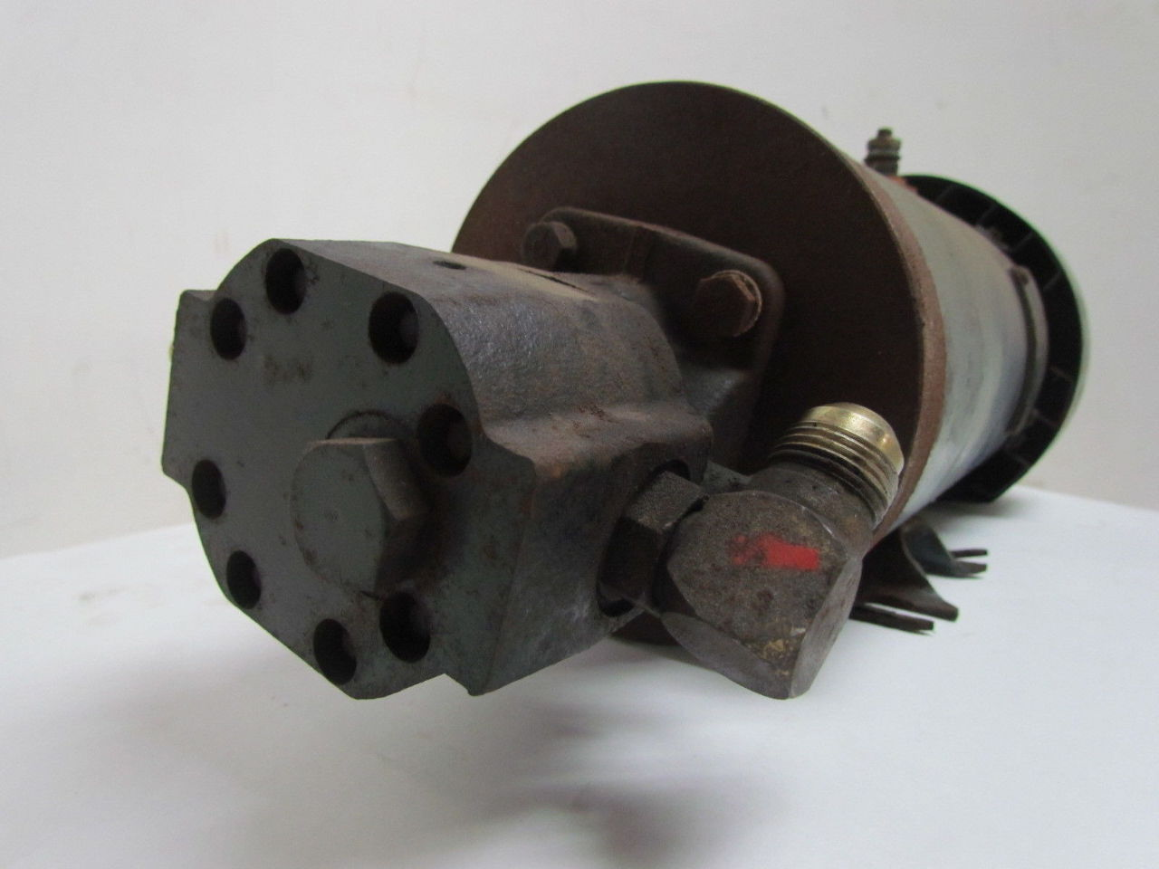 General electric pump d c motor hydraulic pump combo 1hp for Hydraulic pump motor combination