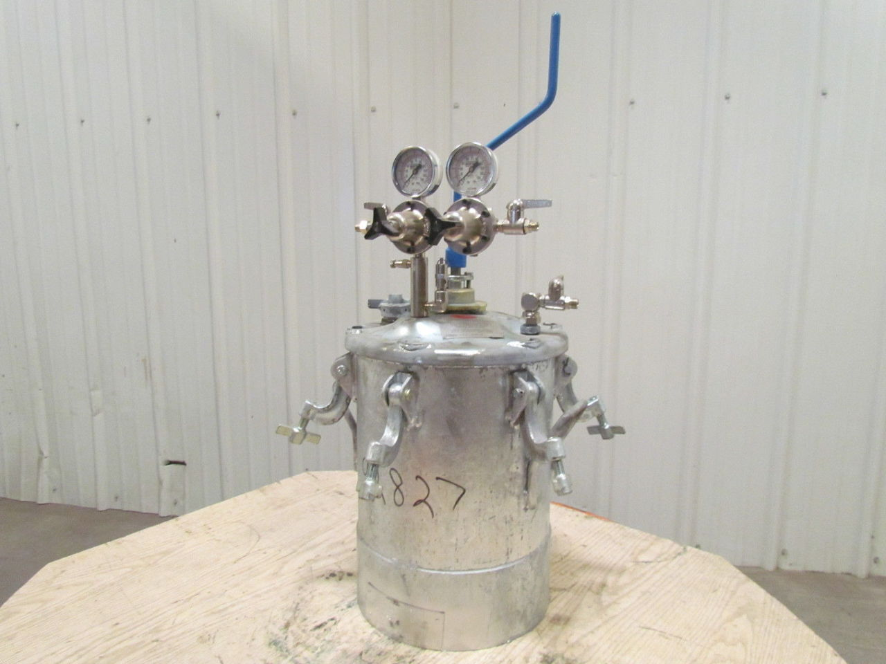 how to build spray tank agitator