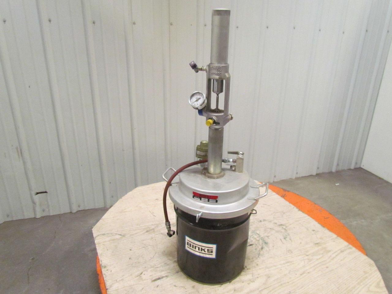 Pogo B 1 3 1 5 Gallon Air Pneumatic Fluid Transfer Pump W