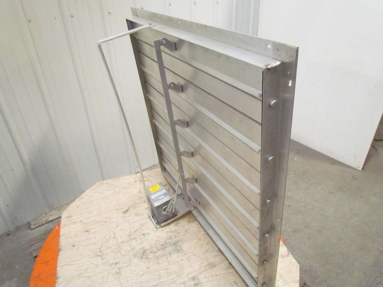 ma 407 701 0 4 36 x36 aluminum motorized damper 120 240v