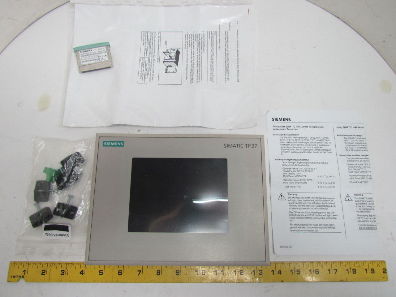 siemens simatic panel touch manual
