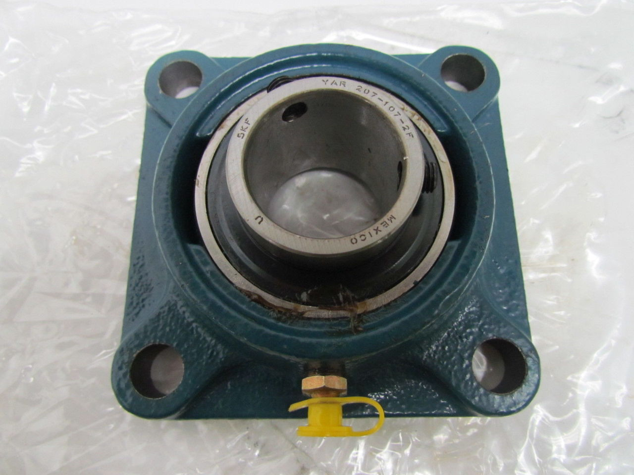 SKF FY 1.7/16 TF YAR 207-107-2F 4-Bolt Ball Bearing Flange ...