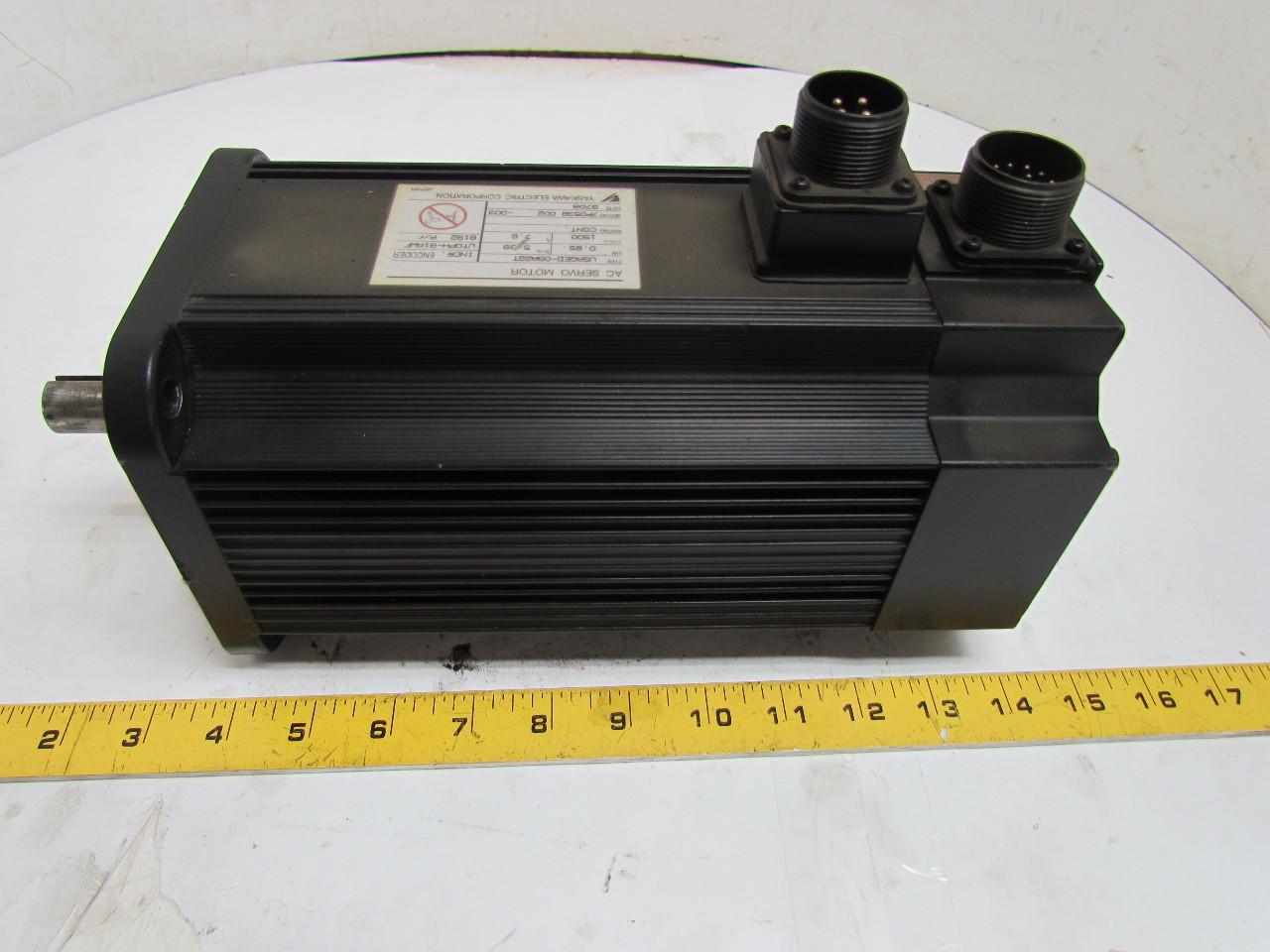 Yaskawa Usaged 09a22t Ac Servo Motor With Endcoder Ebay