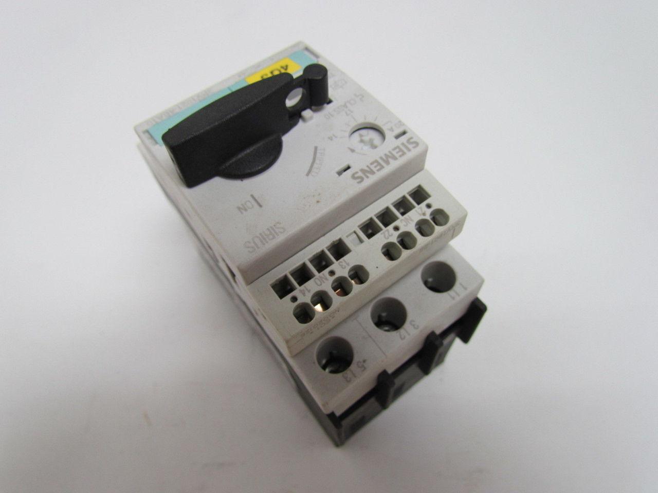 Circuit Breaker 14 20a N Release 260a Size So Motor
