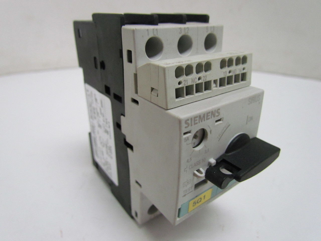 Circuit Breaker Size So For Motor Protection Cl 10 A Rel 3