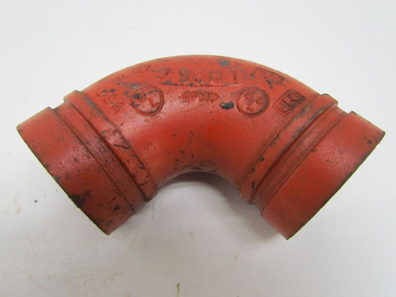 Victaulic no quot grooved end degree pipe fitting elbow