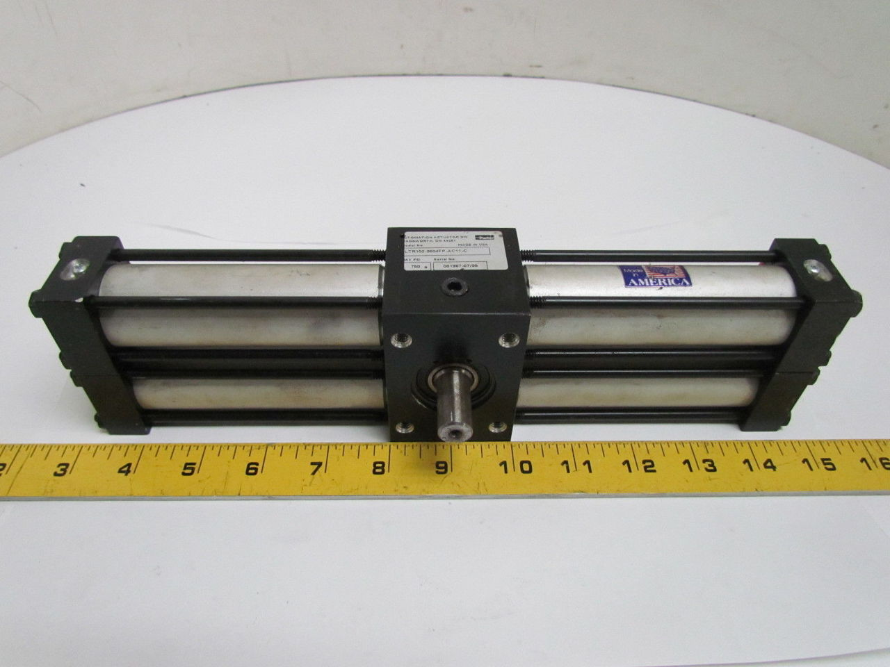 Parker Hydraulic Rack Amp Pinion Rotary Actuator 360 Degree