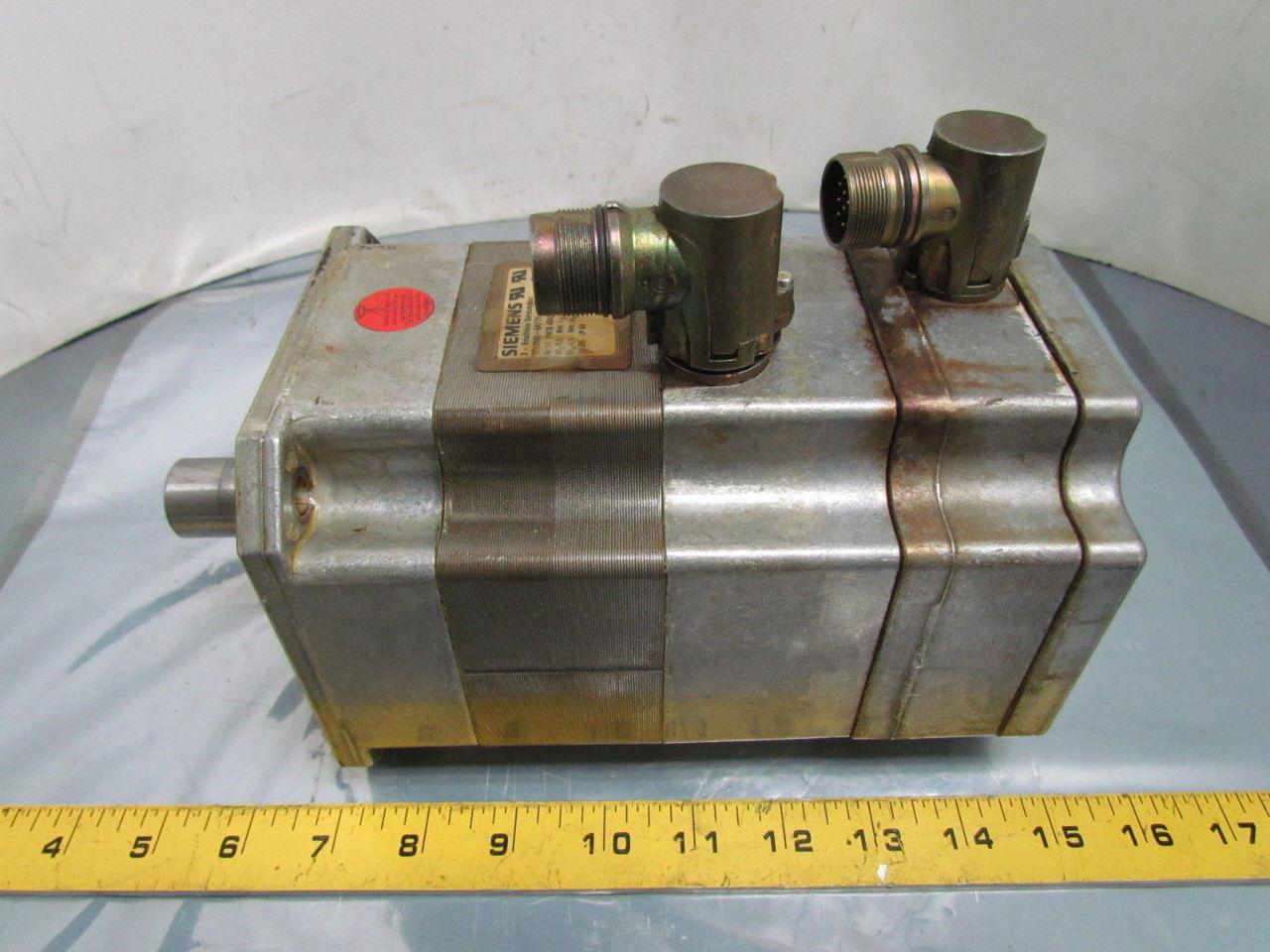 Siemens 1fk6060 6af71 1tg0 3 Ph Brushless Servo Motor 4 3