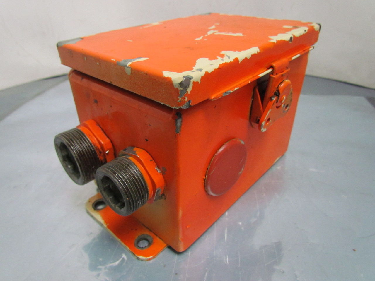 6x4x4 steel electrical enclosure box hinged cover wall for Electric motor enclosure types