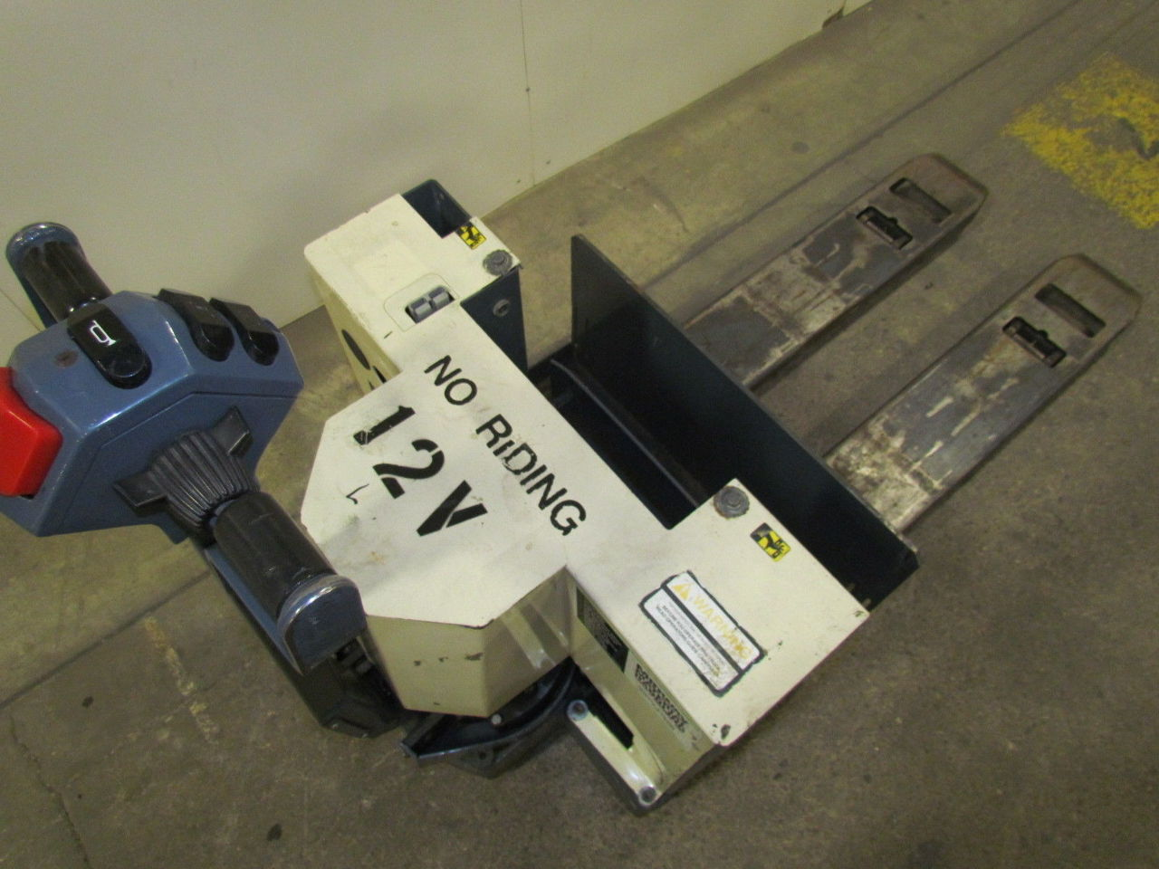 Barrett Wp 40 27x42 Type E Electric Pallet Jack 4000 12v