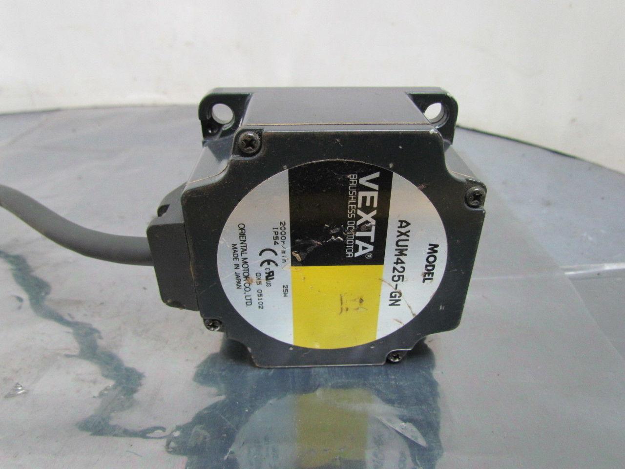 Oriental Motor Axum425 Gn Vexta Brushless Dc Motor Ebay