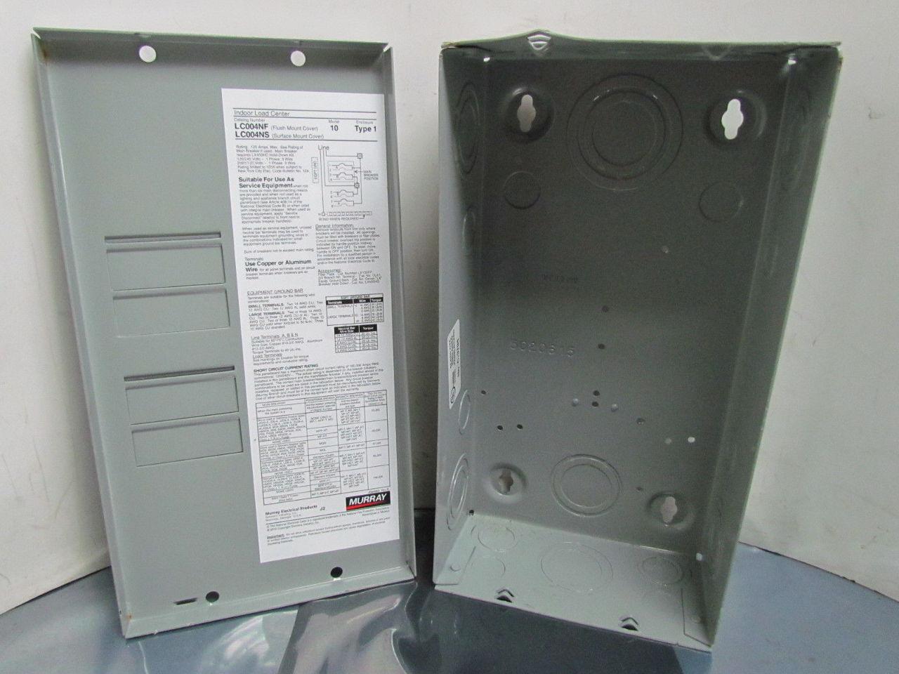 Wall Mount Circuit Breaker : Murray space circuit breaker load center enclosure