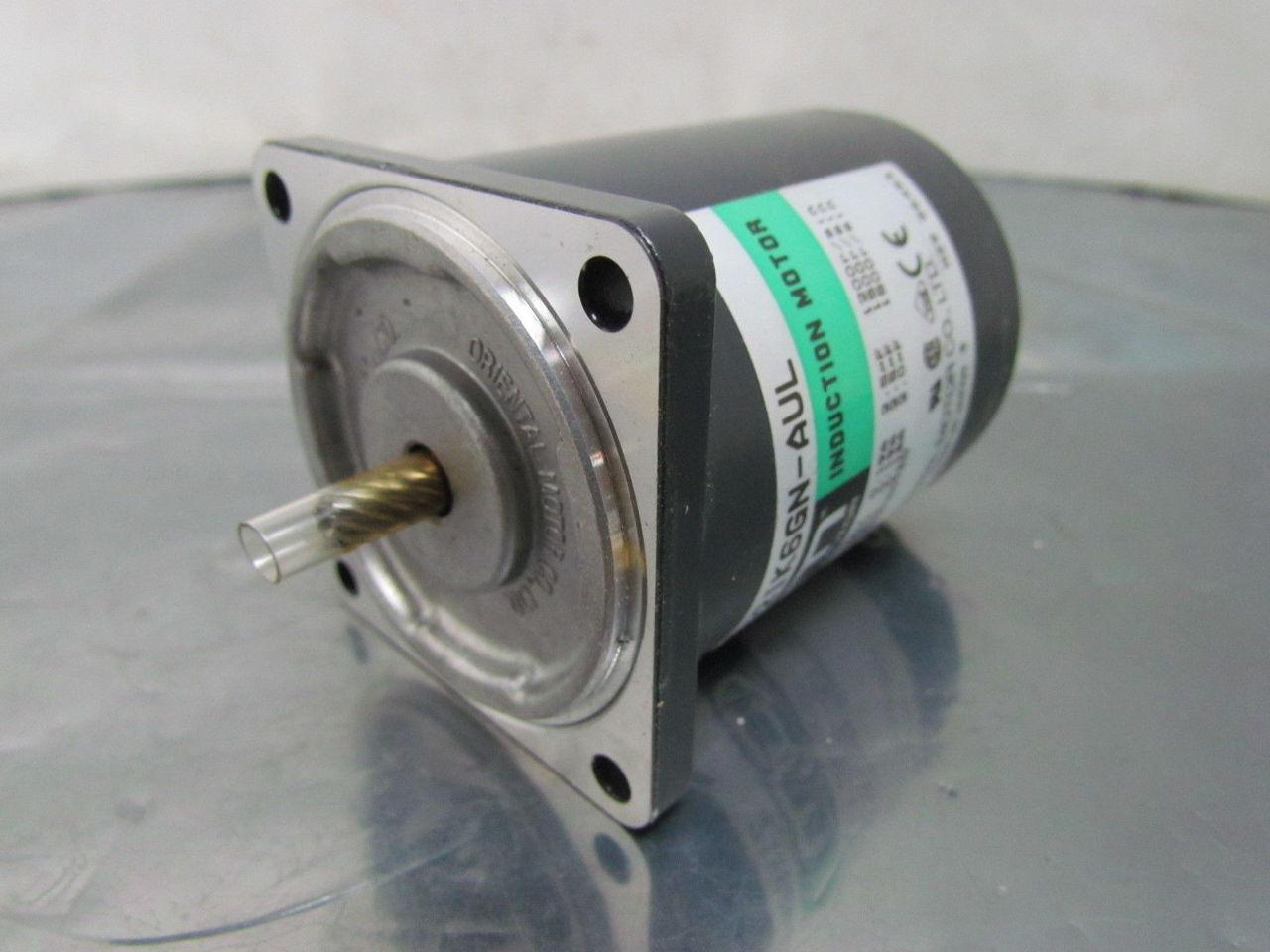 Oriental 2ik6gn aul induction motor 1 phase 115v amp for 2 phase induction motor