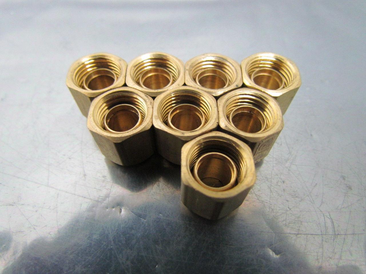 Parker xbtmb brass compression fitting nut and ferrule