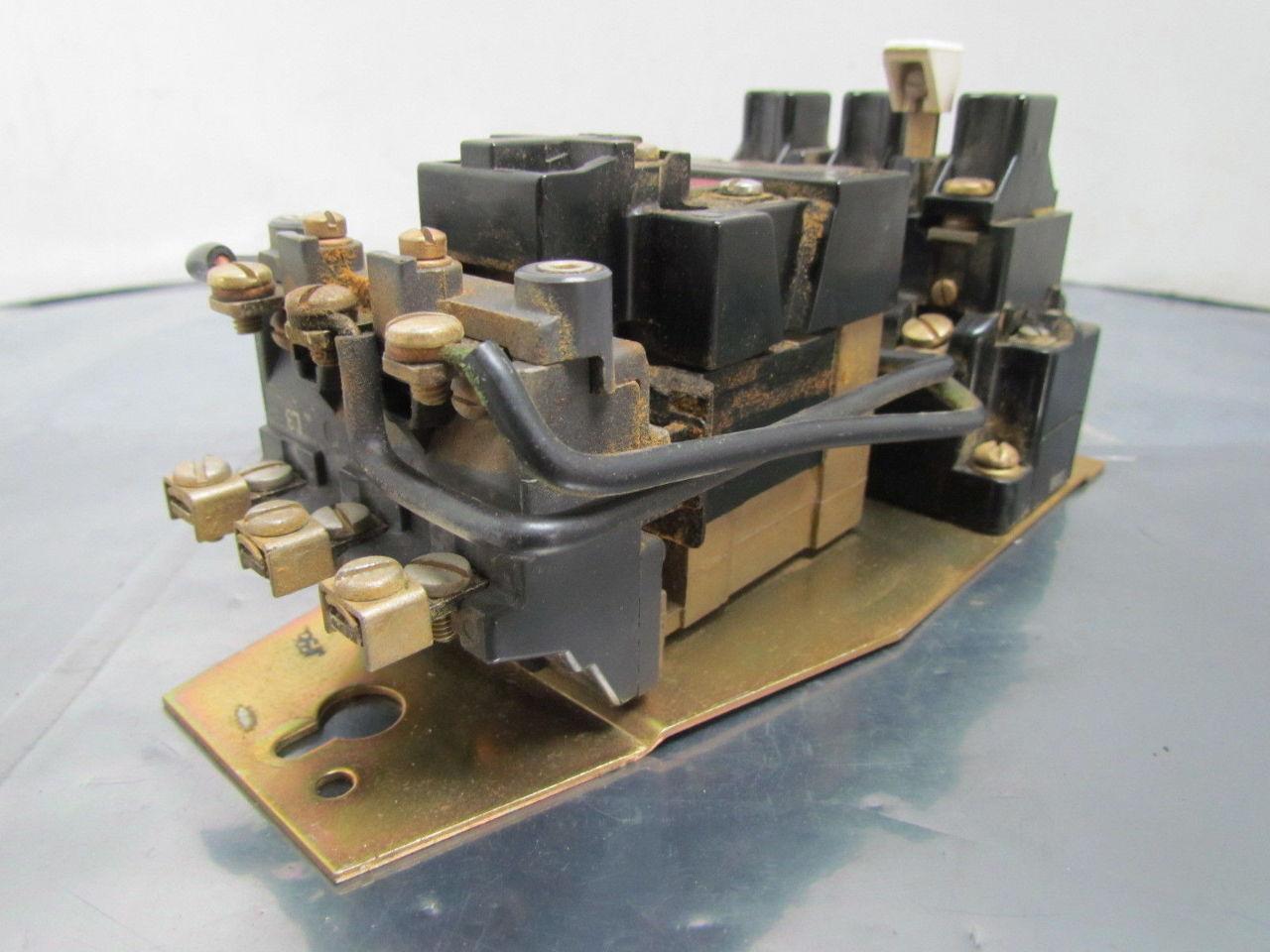 709 aod16 709 a0d16 motor starter 3 pole 120v coil ser k for Sizing motor starters and overloads