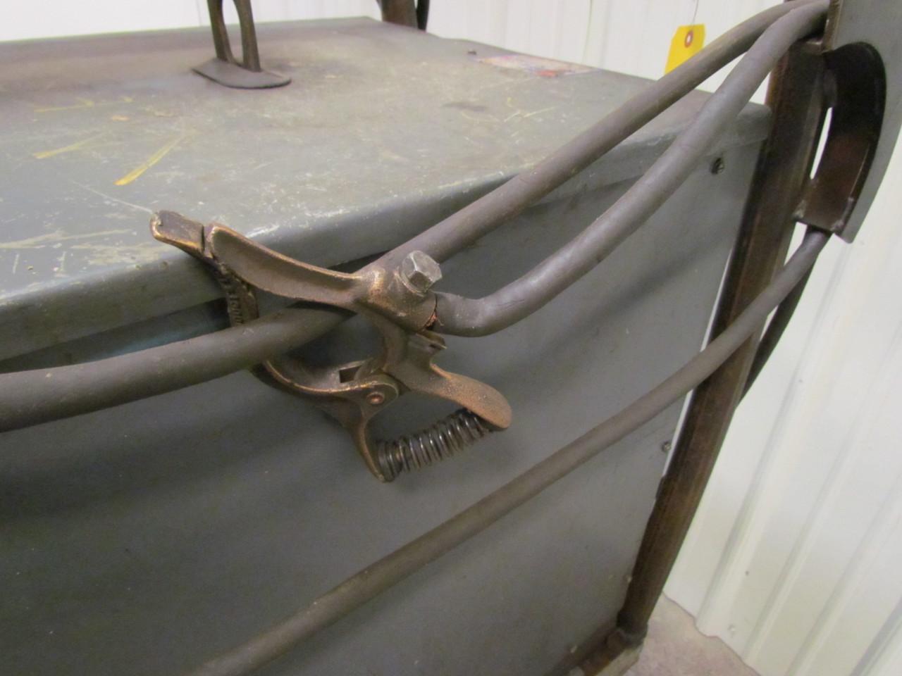 Lincoln Idealarc 400 Amp Dc Welder W Wire Feeder Gun Cart