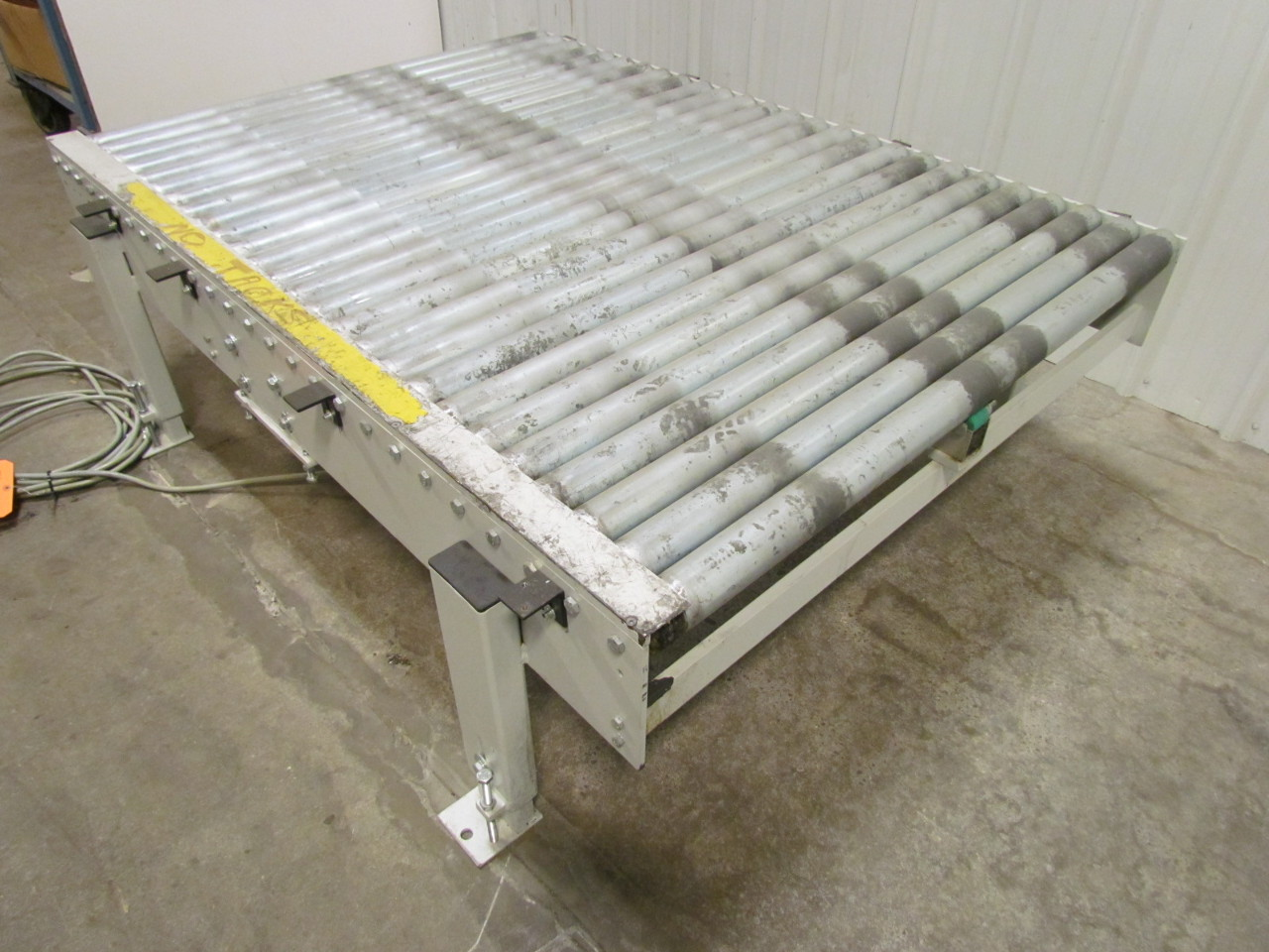 Powered Heavy Duty Pallet Handling Chain Driven Live