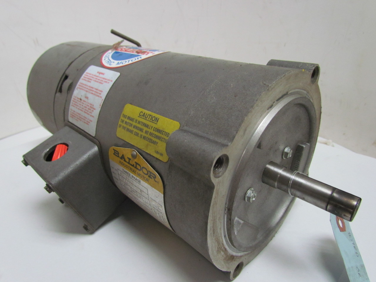 Baldor Kbm3458 Electric Motor 3ph 33 Hp 1725 Rpm 208 230