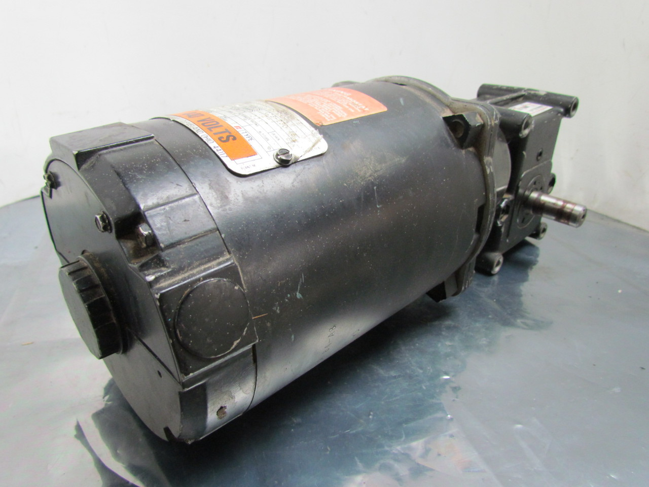 Reliance electric 1 4 hp 3ph 56c gear motor w morse 15ged for 1 4 hp gear reduction motor