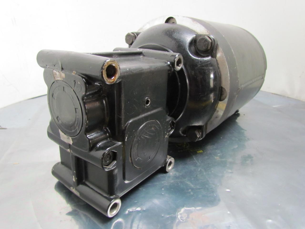 Quipp 1 2 Hp 3ph 56c Gear Motor W Morse 15gedc Speed