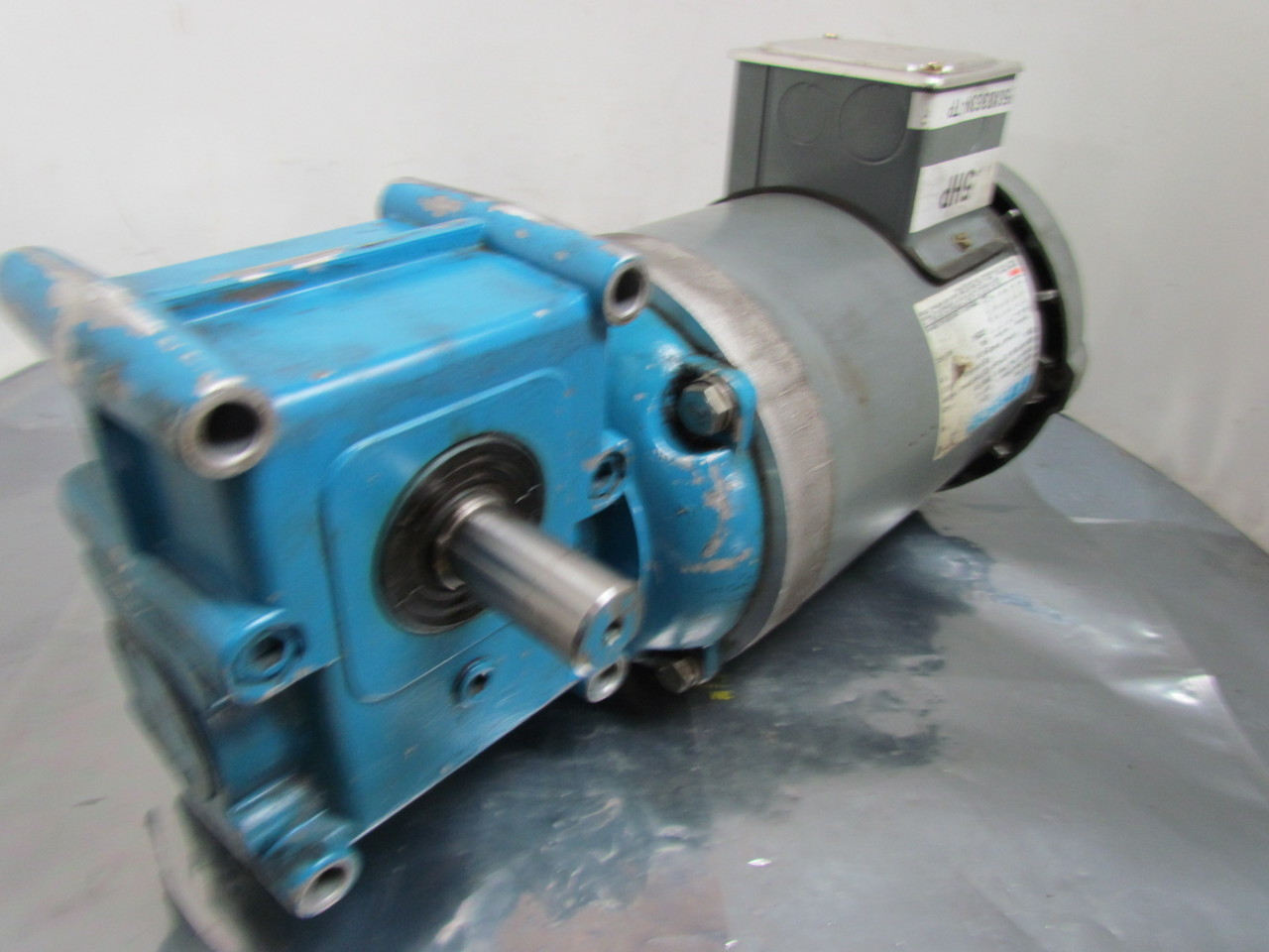 Marathon electric 1 1 2 hp 3ph 56c gear motor w morse for Speed reducers for electric motors