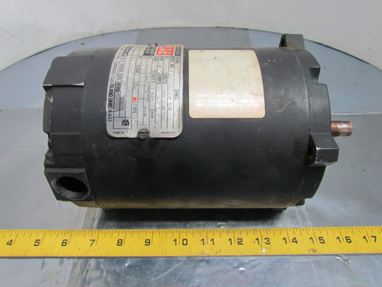 Reliance Electric A77v9922m 1275 Ac Motor 1 4hp 3ph 56c