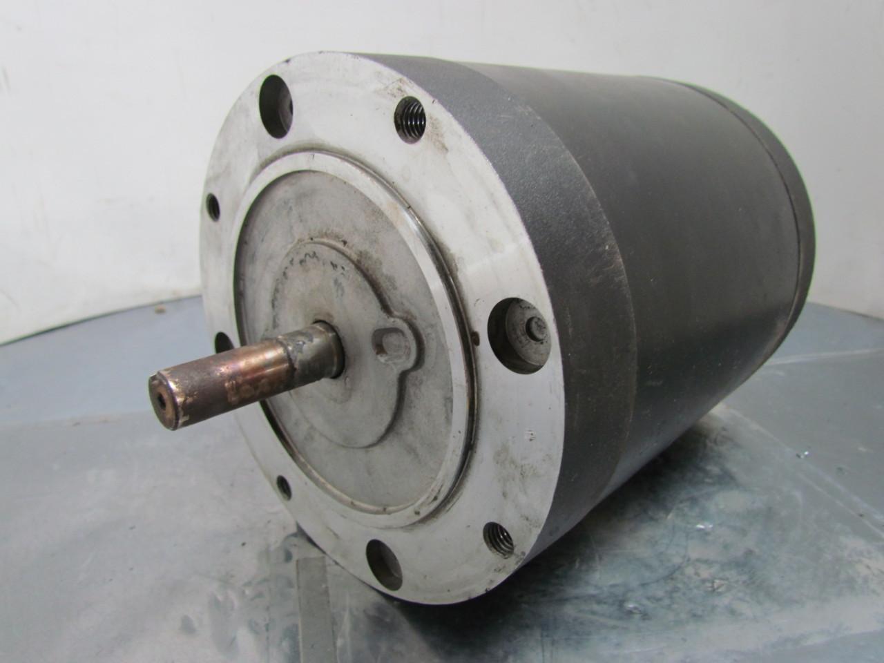 Leeson Quipp Electric Motor 1 2 Hp 3ph 1725rpm 56c Frame