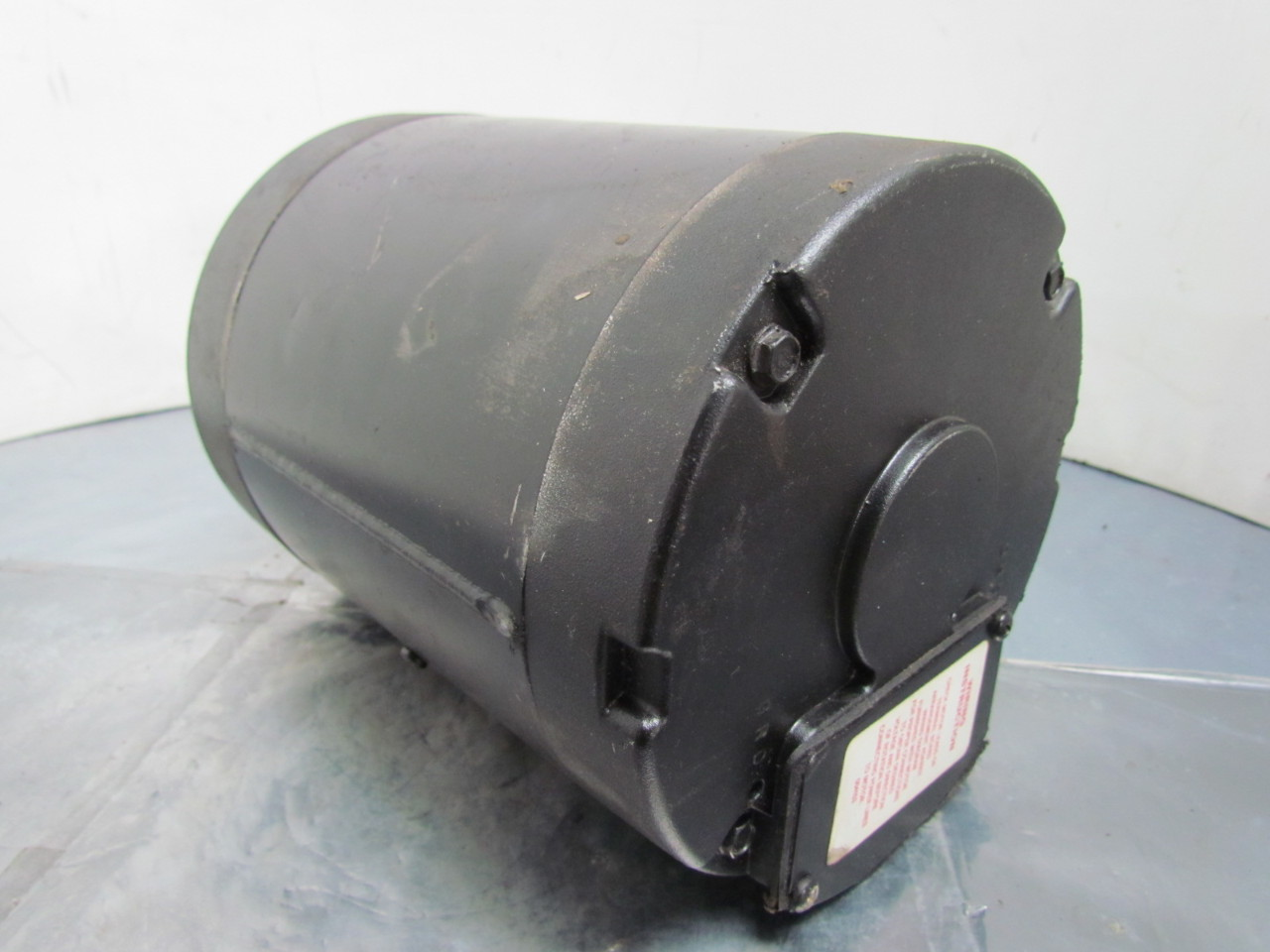 Leeson quipp electric motor 1 2 hp 3ph 1725rpm 56c frame for 56 frame motor shaft size