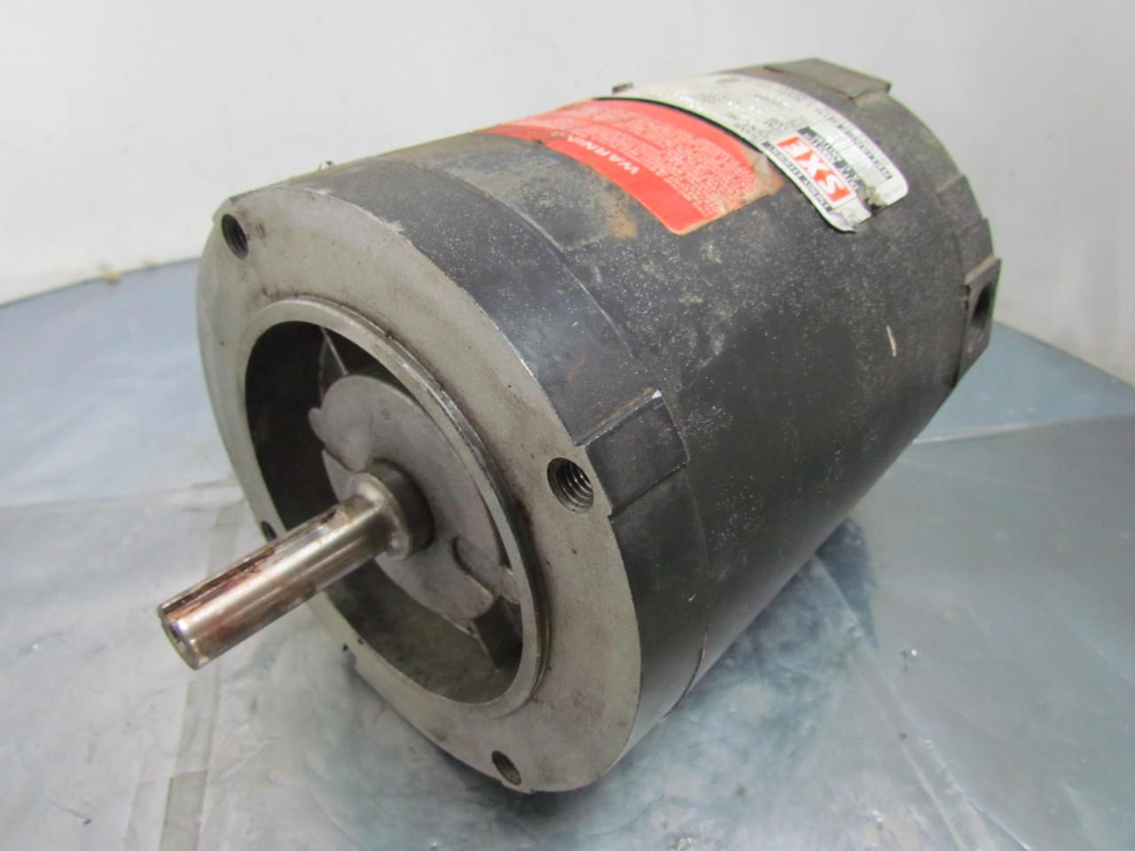 Reliance Electric B77b9933m Ac Motor 3 4 Hp 3ph 1725 Rpm