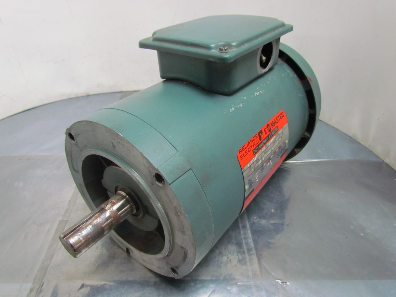 Reliance Electric P14g9257t Motor 1 1 2 Hp 3 Ph 1725rpm
