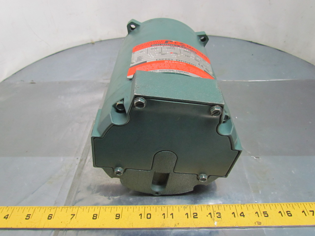 Reliance electric p56x3002s ka motor 1 3 hp 3 ph 1725rpm for Reliance dc motor frame size chart