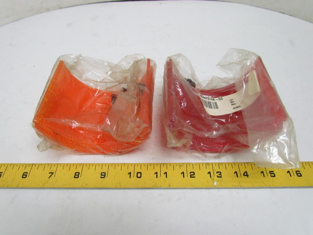 federal signal k8447014a 02 litestak lens kit amber red. Black Bedroom Furniture Sets. Home Design Ideas