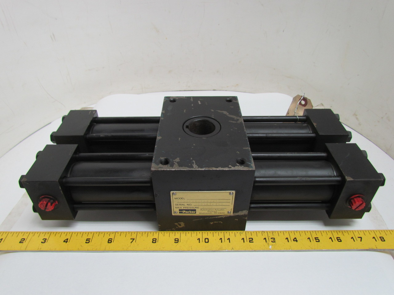 Parker Htr10 180 Aa12 C Hydraulic Rack Amp Pinion Rotary