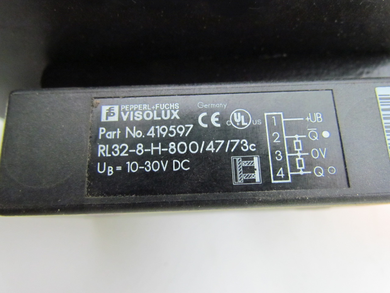 Reflex Light Beam Switch RL32 Series w/36' Of Cable + ...:... Reflex Light Beam Switch RL32 Series w/36' Of Cable + Adjustment Mount  10 ...,Lighting