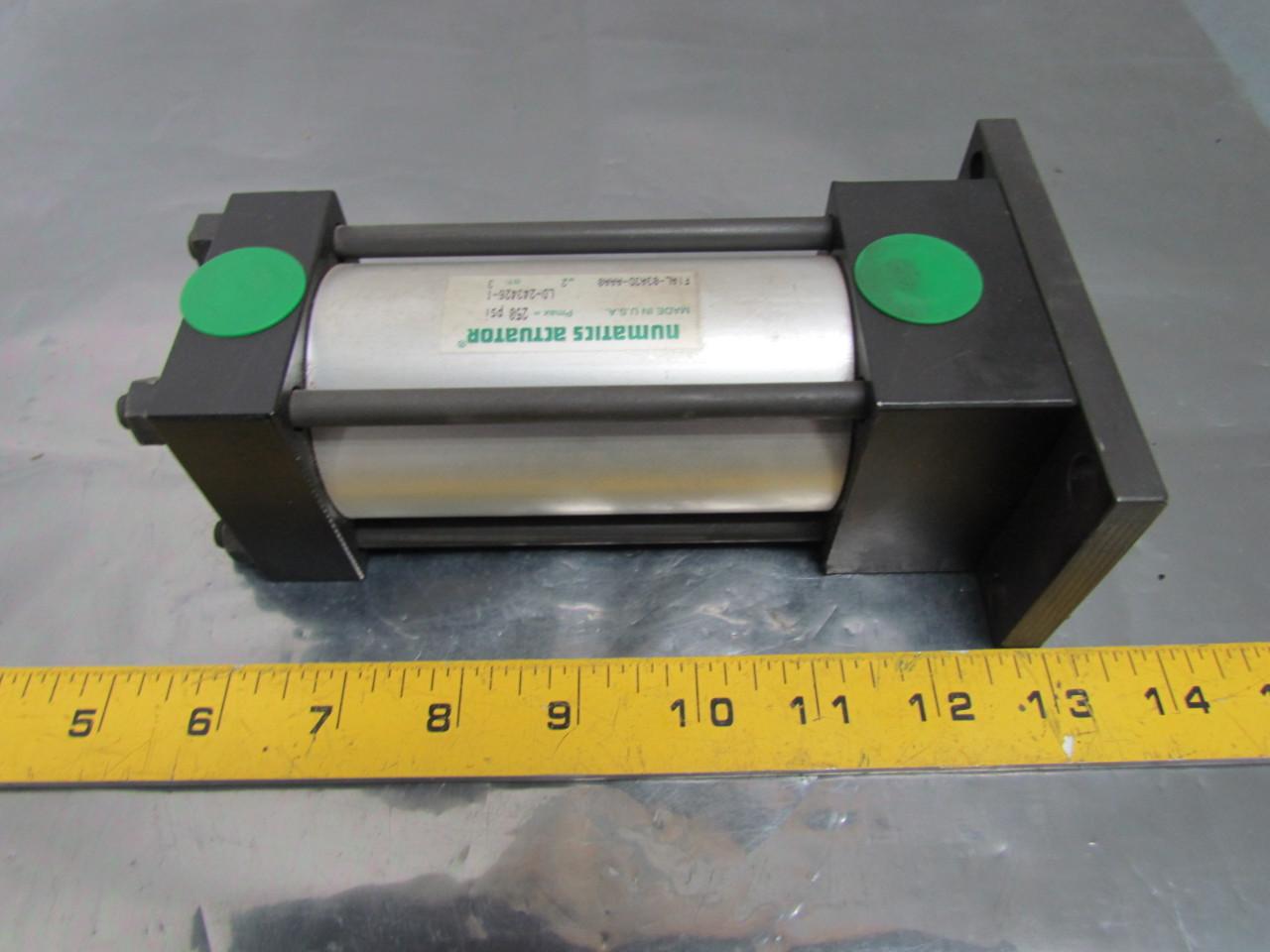 Numatics Actuator F1AL-03A3D-AAA0 Pneumatic Air Cylinder 2 ...