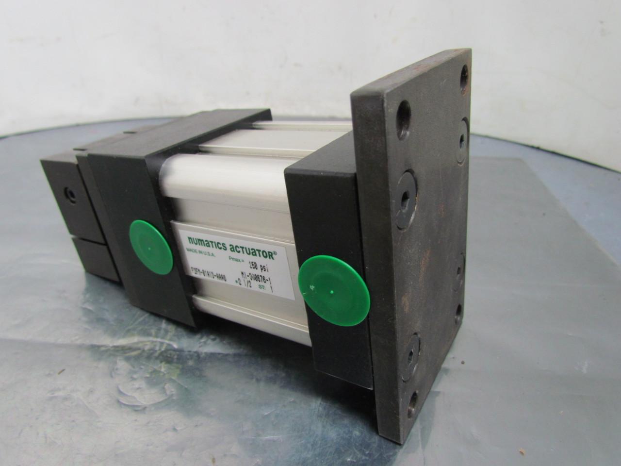 Numatics F2FM-01A1D-AAA0 Pneumatic Air Cylinder 2-1/2\