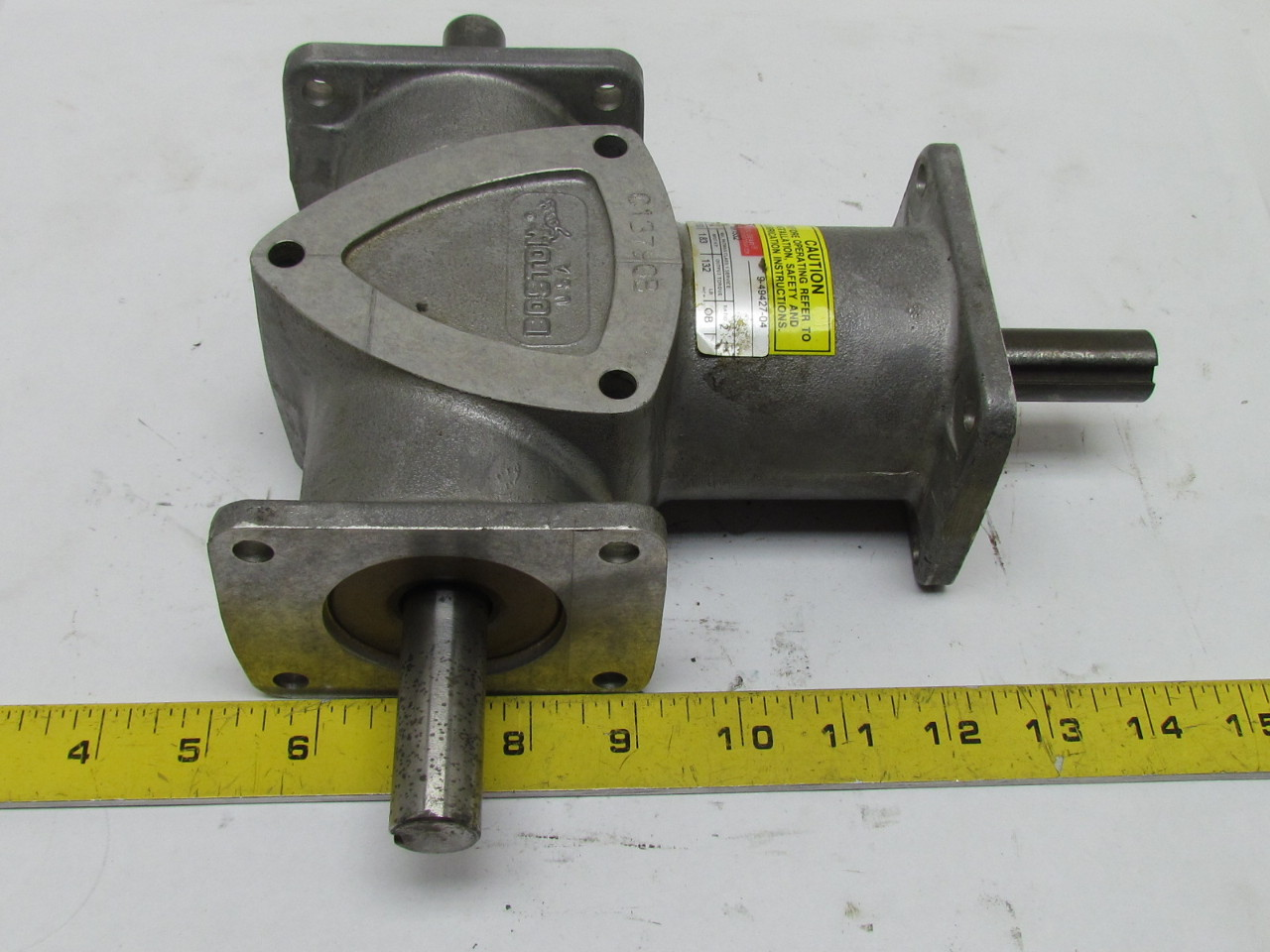 Right Angle Transmission : Boston right angle spiral bevel gear drive gearbox