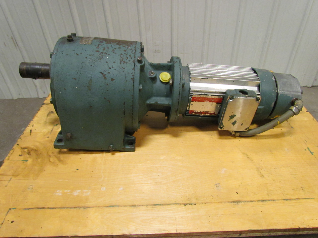 Dodge apg electric motor gearbox speed reducer