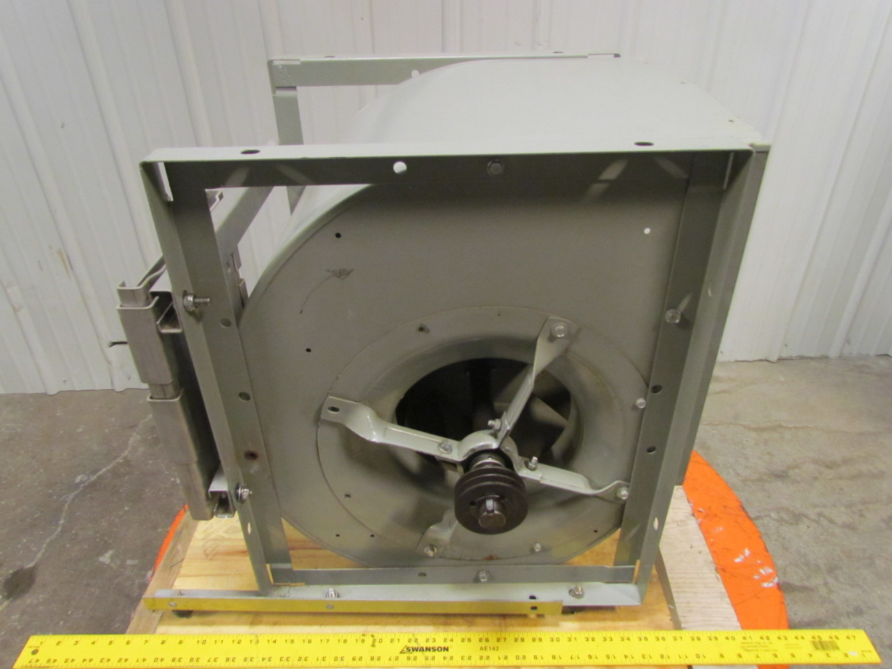 Engine Driven Centrifugal Blower : Nicotra centrifugal belt driven fan double inlet backward