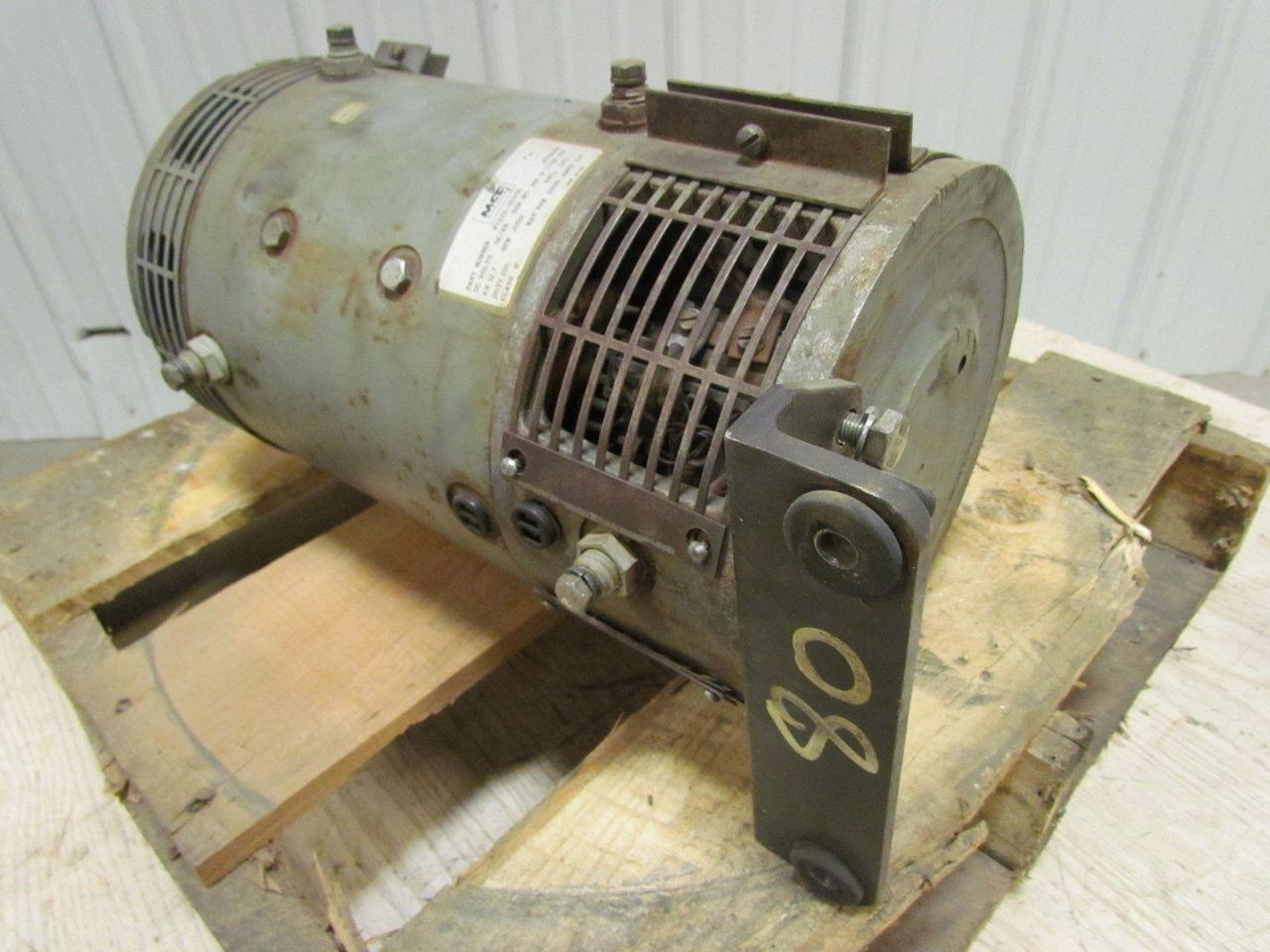Mcf dc electric forklift hydraulic pump motor 36 48 volt for Electric motor hydraulic pump