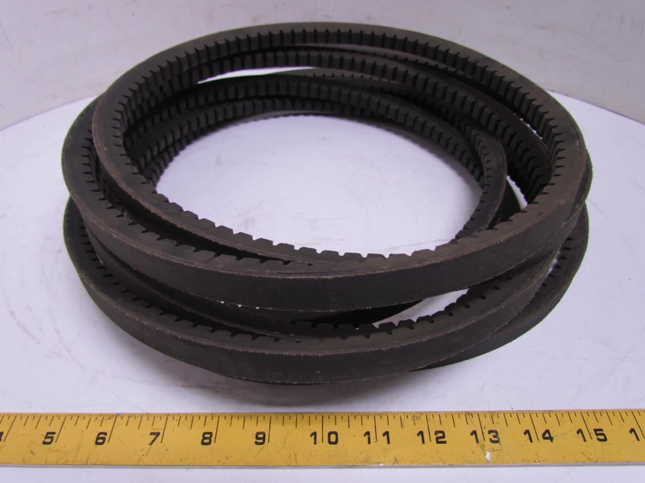 browning bx255 gripnotch cogged v belt bx section 13 16