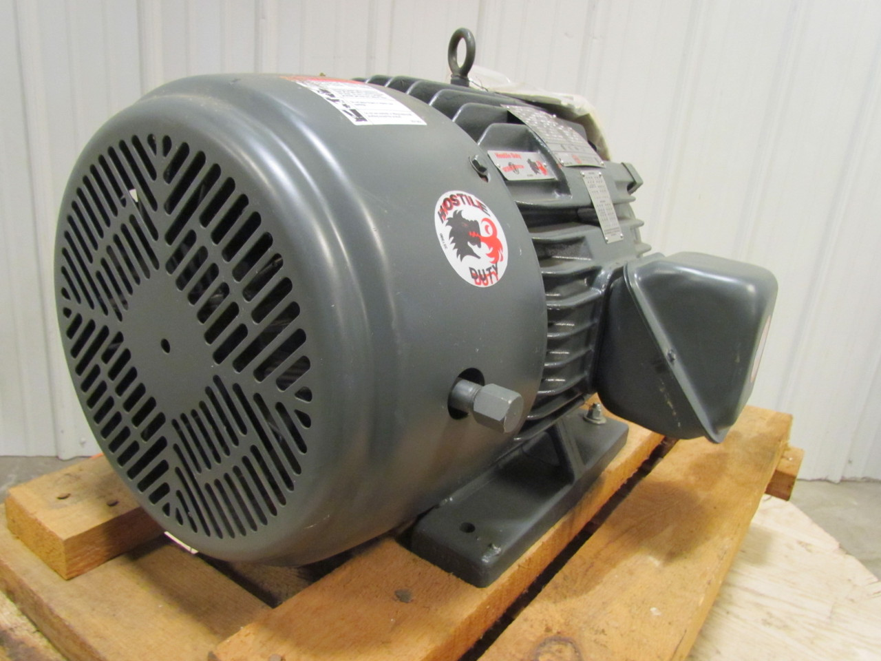 Us Electric Hostile Duty Tefc 286t Frame 30 Hp 1750rpm 3