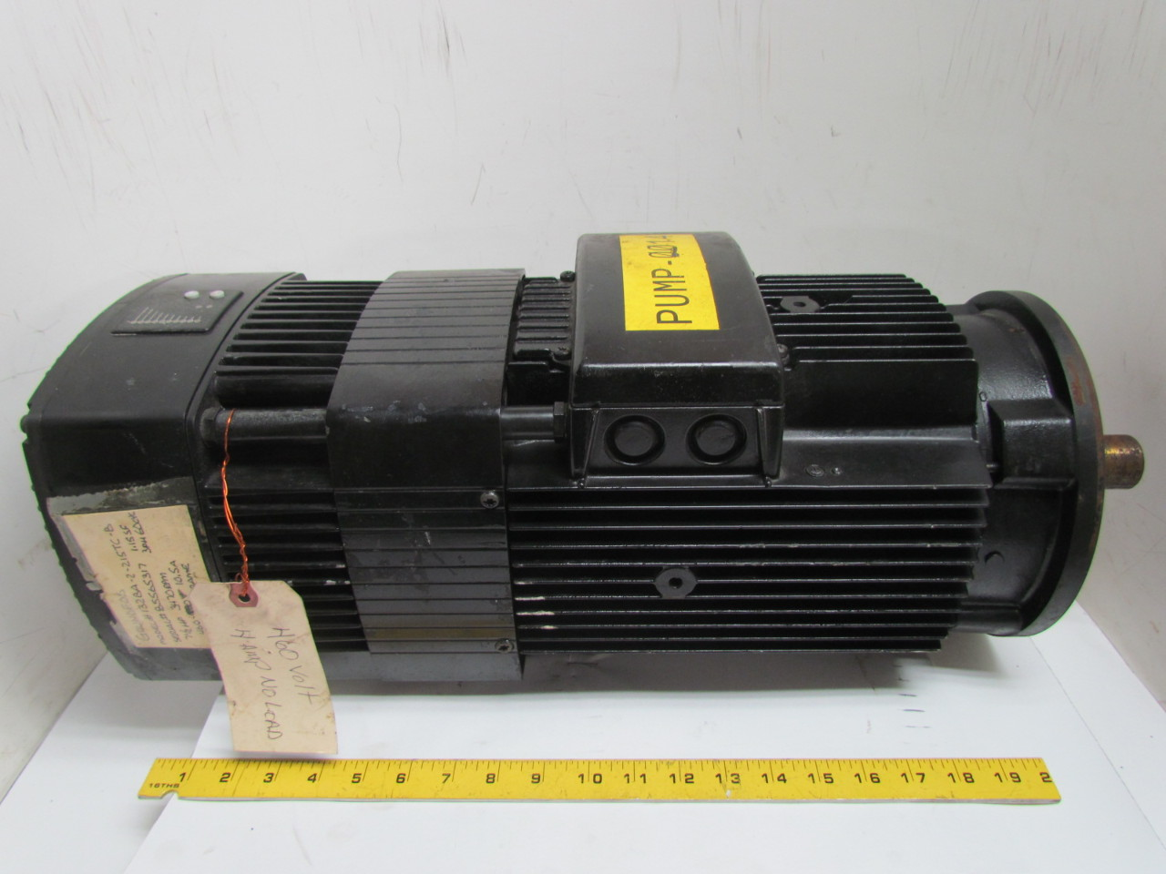 Grundfos 132ba 2 215tc b variable speed pump motor 7 1 2 for 2 hp variable speed motor