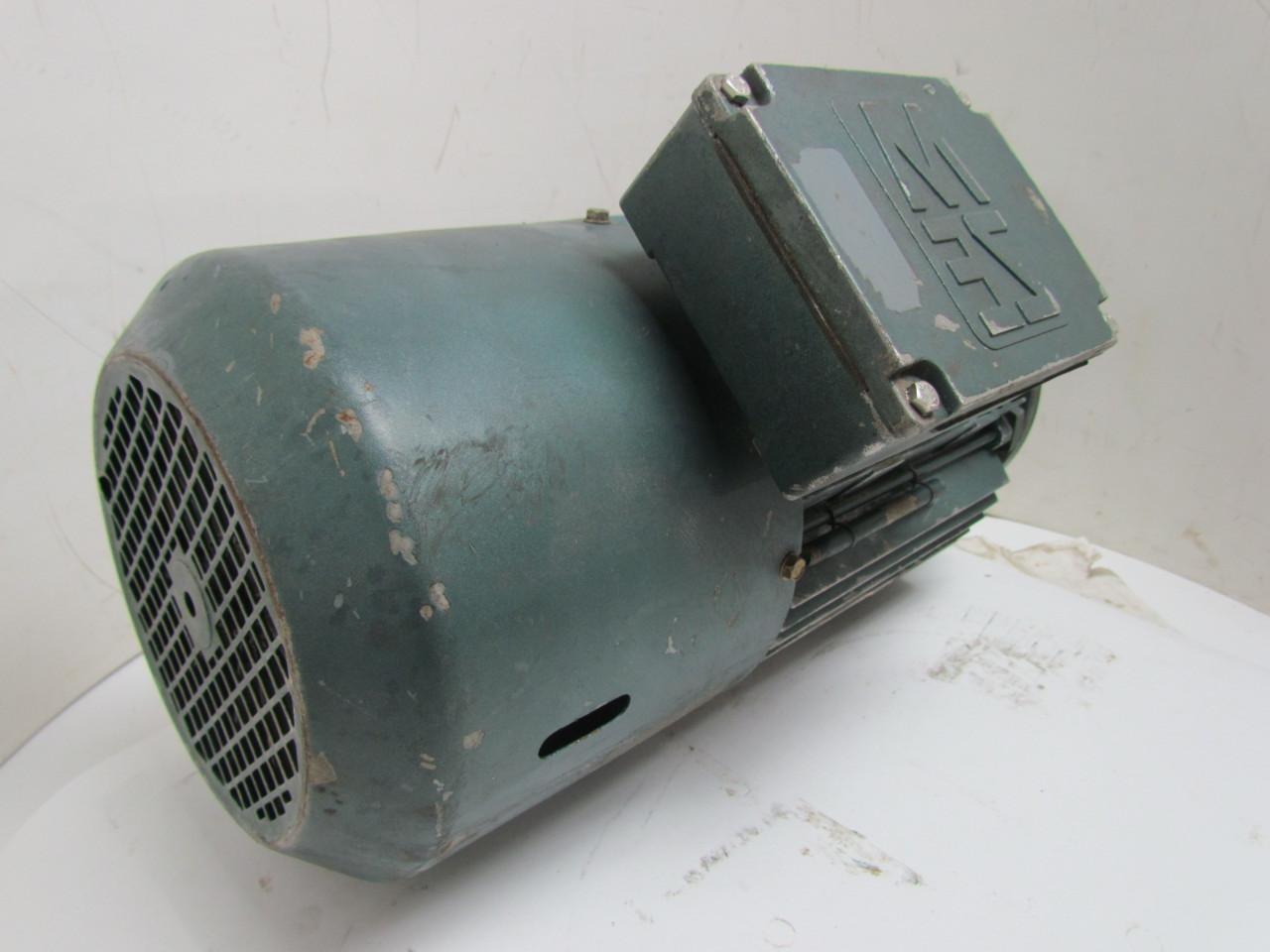Sew Eurodrive 25 1 6kw Electric Motor 360y Y V 3ph Dt43